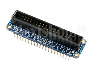 Assembled Pi Cobbler Plus, 40 pin
