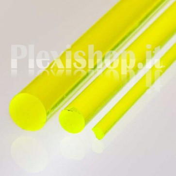 Yellow FLuorescent Rod Ø 40 mm