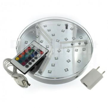Base luminosa a Led RGB - 200mm