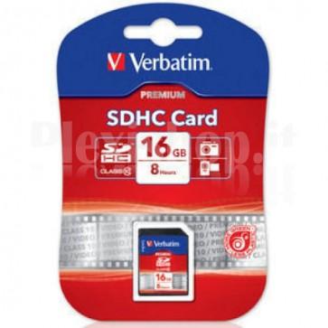 SecureDigital SDHC classe 10 Verbatim 16 GB