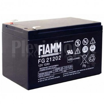 Batteria al Piombo 12V 12Ah (Faston 6,3mm)