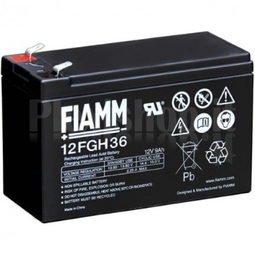 Batteria al Piombo 12V 9Ah (Faston 6,3mm)
