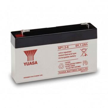 Batteria al Piombo 6V 1.2Ah NP1.2-6 (Faston 187 - 4,8mm)