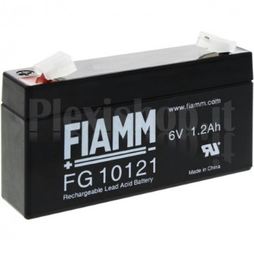 Batteria al Piombo 6V 1,2Ah (Faston 4,8mm)