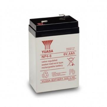Batteria Piombo-Acido per UPS 6 V 4 Ah, NP4-6
