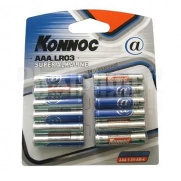 Blister 12 Batterie Mini Stilo AAA Alcaline LR03