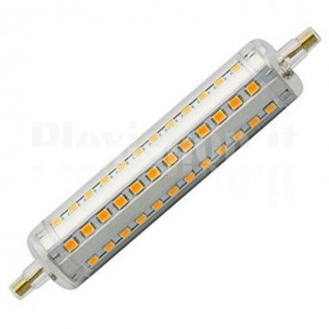 Blocco LED R7S 118mm SMD 8W 806lm Bianco Caldo, Classe A