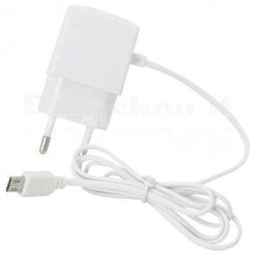 Caricabatterie Micro USB 1A per Smartphone Bianco