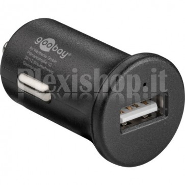 Caricatore da Auto 1p USB Quick Charge 3.0 Nero