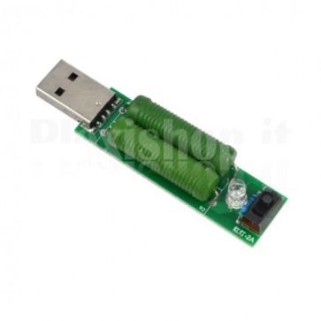 Carico fittizio USB 1-2A