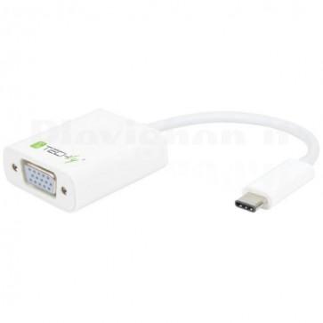 Cavo Convertitore Adattatore da USB-C M a VGA F