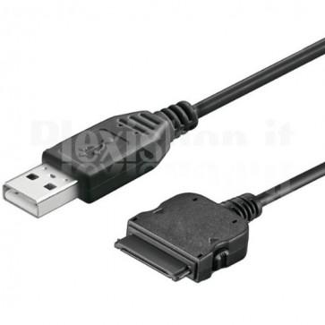 Cavo Dati Alimentazione USB per iPod/iPhone/iPad 30 Contatti Nero