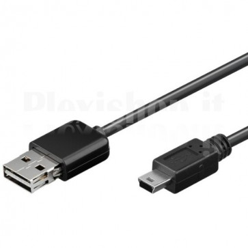Cavo Easy USB 2.0 A Maschio / Mini B 5 Poli Maschio