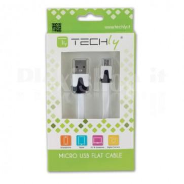 Cavo Flat USB AM a Micro USB M