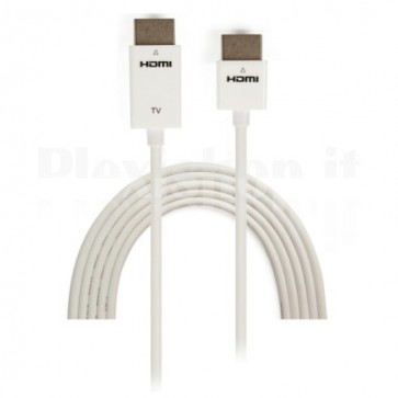 Cavo HDMI High Speed con Ethernet Ultra Slim