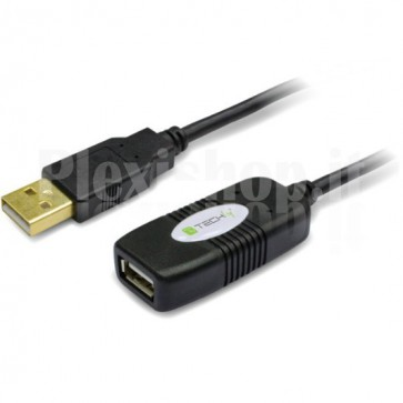 Cavo Prolunga Attivo USB2.0 Hi-Speed 10m