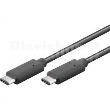 Cavo SuperSpeed USB-C Maschio / USB-C Maschio 50cm Nero