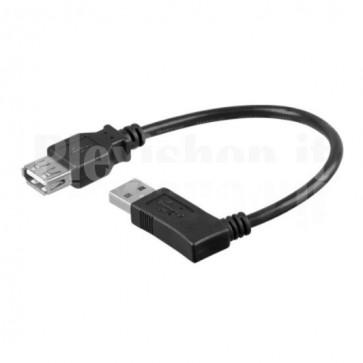 Cavo USB 2.0 A maschio angolato/A femmina