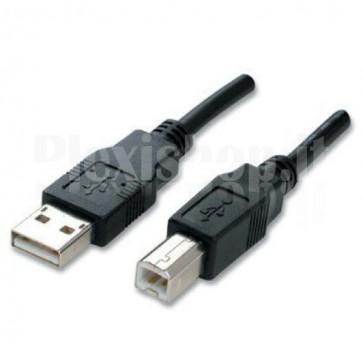Cavo USB 2.0 A maschio/B maschio bulk