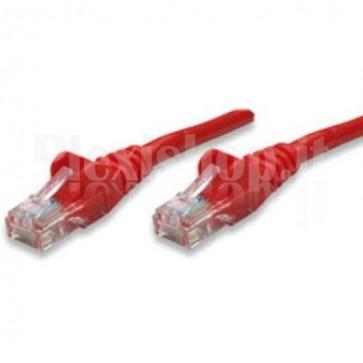 Cavo di rete Patch CCA Cat. 5e Rosso UTP 0,5 mt