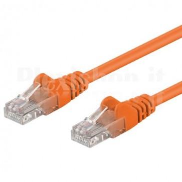 Cavo di rete Patch CCA Cat. 6 Arancio UTP 1 m
