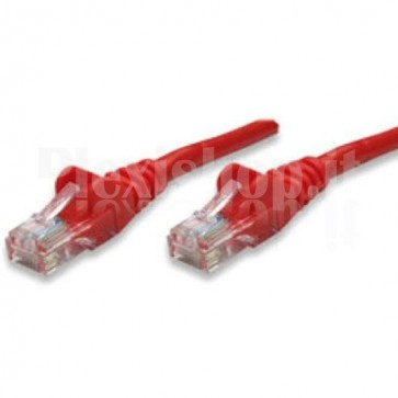 Cavo di rete Patch in CCA Cat. 6 Rosso UTP 10 mt