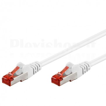 Cavo di rete Patch in rame Cat. 6 Bianco SFTP LSZH 5m