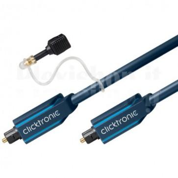Cavo ottico digitale audio Toslink/Toslink 3 m