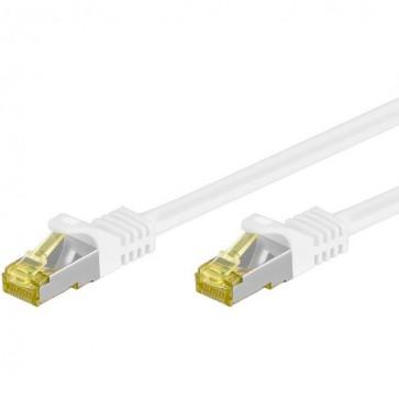 Cavo Patch Cat.7 Plug RJ45 6A S/FTP LSZH 10m Bianco