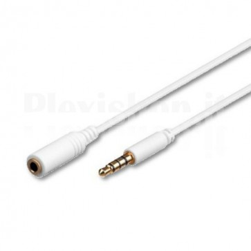 Cavo prolunga audio 5mt per iPad iPhone iPod