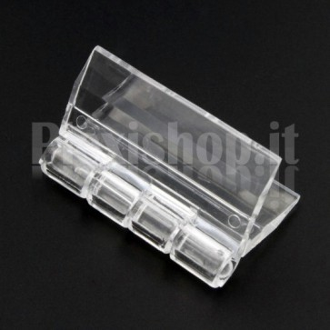 Clear Acrylic hinge 30x33mm