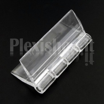 Clear Acrylic hinge 45x38mm