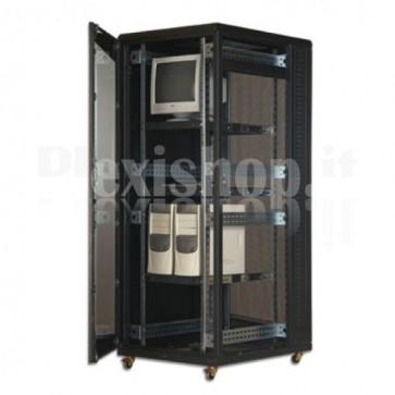 "Armadio Server Rack 19"" 800x1000 42 Unita' Nero"