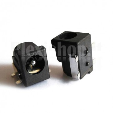 Connettore jack coassiale SMD 5.5 x 2.1mm