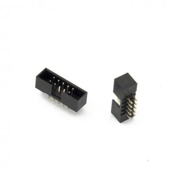 Connettore maschio 10 pin montaggio su PCB