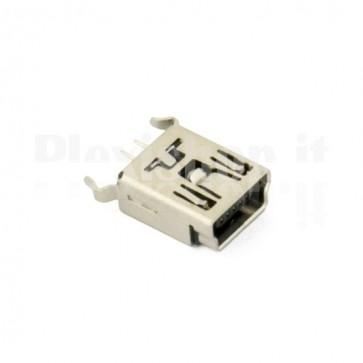 Connettore mini USB - Connessione 180°