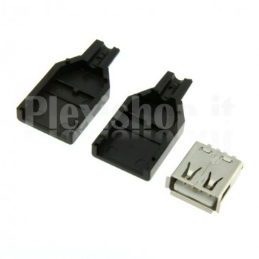USB connector type A female