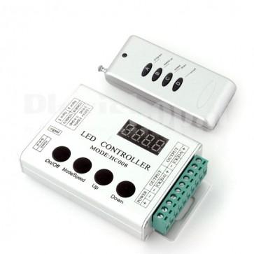 Controller led indirizzabili preprogrammato per WS2811 5V.