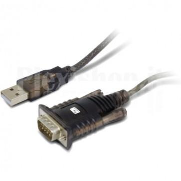 Convertitore Adattatore Techly da USB 2.0 a Seriale in Blister