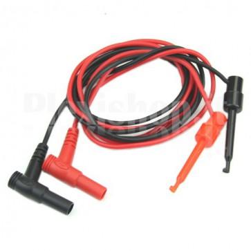 Pair cables for instrumentation - banana + clip