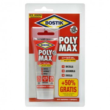 Poly Max Cristal Express Bostik - Blister