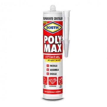 Poly Max Cristal Express Bostik - Cartuccia