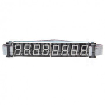 8-digit 8-segment display