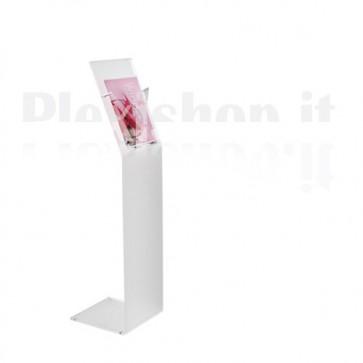 Plexiglass Freestanding Floor Display Aluminium supports