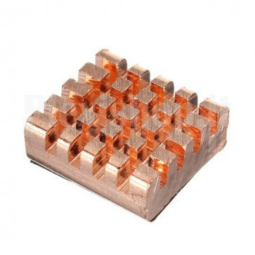 Copper heatsink for Raspberry Pi, CPU