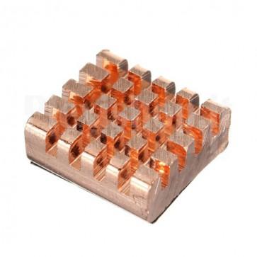 Copper heatsink for Raspberry Pi, CPU