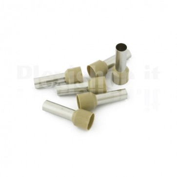 Puntale boccola singolo a crimpare - E35-25