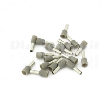 Puntale boccola singolo a crimpare - E4009