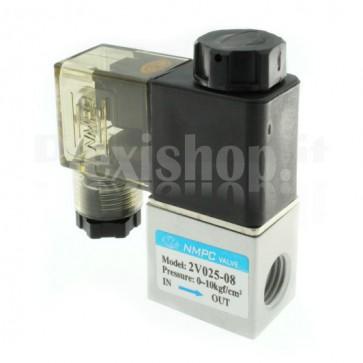 "Pneumatic solenoid valve for air 2V025-08, G1/4"""