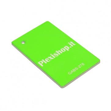 GABS-278 ABS Bicolore Verde Fluorescente/Bianco 3,0 mm